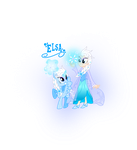 MLP Elsa and Human Elsa by MeganLovesAngryBirds