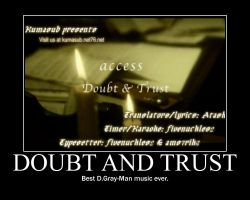 Access Doubt and Trust by Onikage108