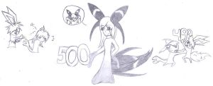 Eeveelutions 500 Pages by xxWolfshadowxx