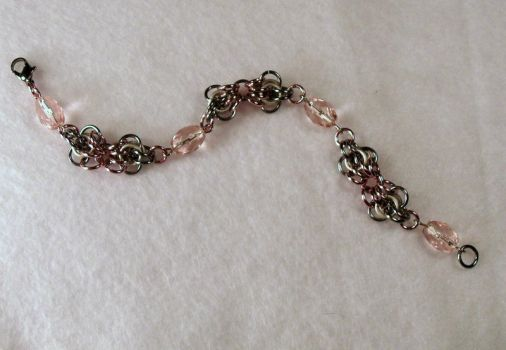 Chainmaille Bracelet by typhoid-lori