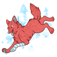 Gift Art: Falling From Great Heights by SierratheSharkDoge