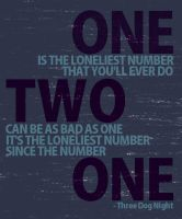 One is the loneliest number... by krazy-kristina