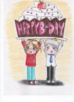 Happy Birthday, from Canada and Prussia by PastaNotWar