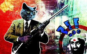 Catticus Finch Stops Terrorism! by King-Mob