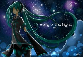 Hatsune Miku ~ Song of the Night by dhymz91