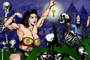 Holy Symbol (Zombies and Muscle) by IHCOYC