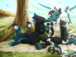 Commish:: Black-Rose-Exterio by KingNeroche