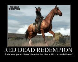 Red Dead Redempion by zombie102