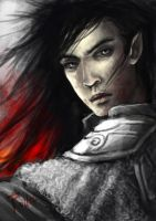 Tolkien: Fingolfin again by AlaisL