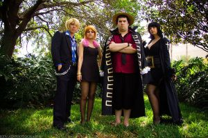 Strong World - One Piece by HoodedWoman