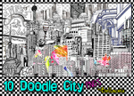 10 Doodle City PNGs by Bellacrix