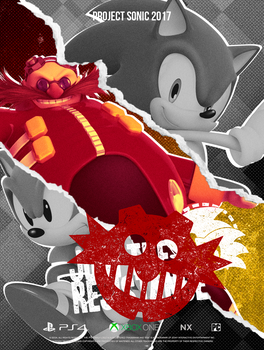 Sonic Resistance: Eggman Poster by NathanLaurindo