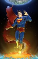 AllStar Superman Supes by yifanjiang
