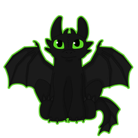 .Toothless. by Lycandra