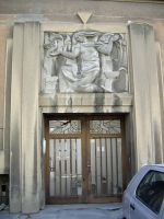 Art Deco entrance door by lumilanous