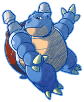 Blastoise by CatchShiro
