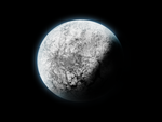 Icy planet by Freddotron