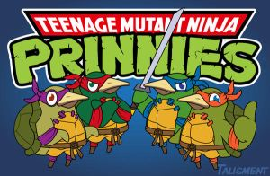 Teenage Mutant Ninja Prinnies by talismentV3