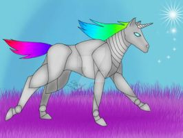 ROBOT UNICORN FTW by Stellaspark