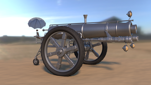 WIP: Cannon by DeepBlueDesign