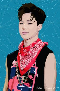 BTS - Jimin Vector by liza0593