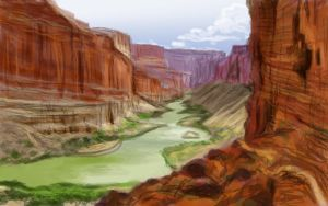 Landscape Photo Study - Daily Practice by Olooriel