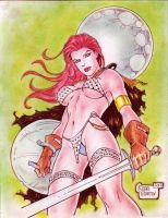 Red Sonja (#12) by Rodel Martin by VMIFerrari