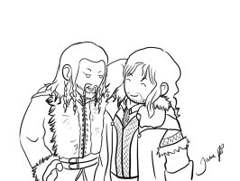 Fili and Kili by TiaAnthy