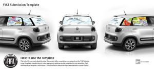 Fiat 500L contest entry by Katie-Kerry
