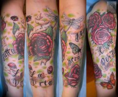 rose sleeve by ABYSS-TAT-2S