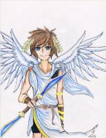 Pit the Kid Icarus by Haylee-Lauren