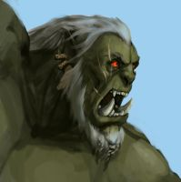 old orc by ivanStan13