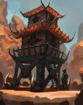 Orc Watchtower by Raph04art