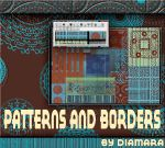 Patterns and Borders Brushes by Diamara