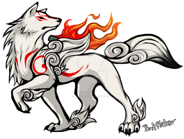 Amaterasu from Okami by Brittlebear