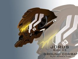 Mecha Head Concept: Jorus by bcetin