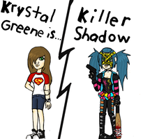 Kick ass oc: The Killer shadow by Porcelain-Hero