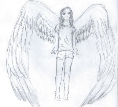 Young Maximum Ride by Purple-Caek
