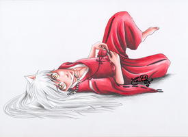 Inuyasha- Dog Spirit by hesxmyxinu