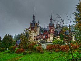 The Peles Castle by Mango84