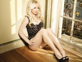 Britney Spears femme fatale by bruce31416