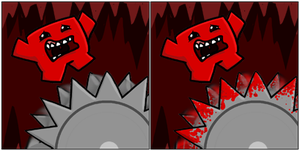 Super Meat Boy Avatars by MaryCapaldi