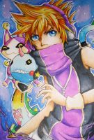 COPIC: neku sakuraba by kimbolie12