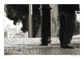 shoes and light pole by anestesic