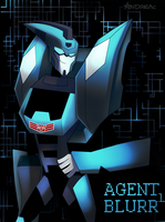 AGENT BLURR by ANDREAc