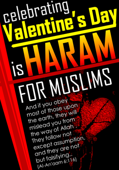 Say no to Valentine's day 1 by forensicist