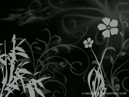 Floral Wallpeper 2 by x-Missy-D-x