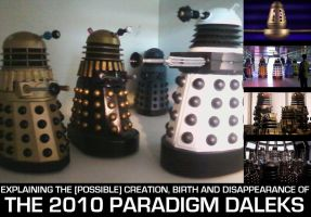 What happened to the 2010 Paradigm Daleks ? by DoctorWhoOne