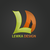Lewka design logo by lewkaART