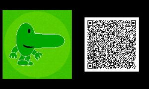Freakyforms: Mr. Nosey QR Code by nintendolover2010